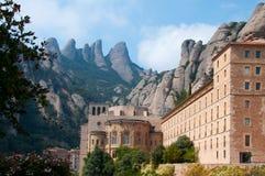 Monasterio España de Montserrat Foto de archivo