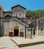 Monasterio famoso de Kykkos, Chipre Fotos de archivo libres de regalías