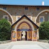 Monasterio famoso de Kykkos, Chipre Imagenes de archivo