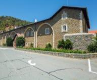 Monasterio famoso de Kykkos, Chipre Imagen de archivo libre de regalías