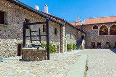 Monasterio famoso de Kykkos, Chipre Fotos de archivo