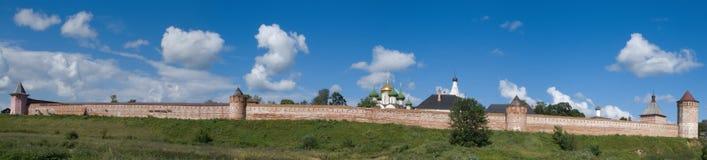 Monasterio-fortaleza Foto de archivo libre de regalías