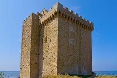 Monasterio fortificado de la abadía de Lerins, Francia Imágenes de archivo libres de regalías