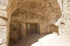 Monasterio fortificado Honorat del santo, Francia Fotografía de archivo