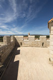 Monasterio fortificado Honorat del santo, Francia Imagen de archivo libre de regalías