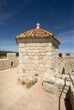 Monasterio fortificado Honorat del santo, Francia Foto de archivo libre de regalías