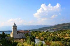 Monasterio franciscano de la Virgen Maria bendecida Imágenes de archivo libres de regalías