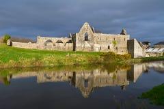 Monasterio franciscano en Askeaton Imágenes de archivo libres de regalías