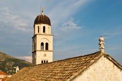 Monasterio franciscano en Dubrovnik Imágenes de archivo libres de regalías