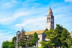 Monasterio franciscano, Lopud Imagenes de archivo