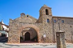 Monasterio franciscano Rocca Imperiale Calabria Italia Foto de archivo