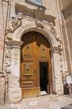 Monasterio franciscano San Severo Puglia Italia Imagen de archivo
