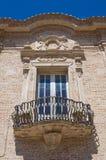 Monasterio franciscano San Severo Puglia Italia Fotos de archivo libres de regalías