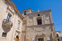 Monasterio franciscano San Severo Puglia Italia Imágenes de archivo libres de regalías