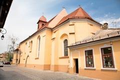 Monasterio franciscano Sf.Ioan en Brasov, Rumania Imagenes de archivo
