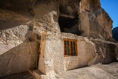 Monasterio Georgia de la roca Fotografía de archivo