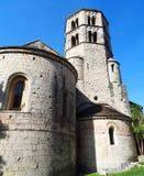 Monasterio, Girona Fotos de archivo