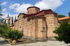 Monasterio griego de Taxiarches en Grecia Imagen de archivo