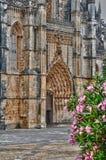 Monasterio histórico de Batalha en Portugal Foto de archivo