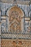 Monasterio histórico de Batalha en Portugal Fotos de archivo