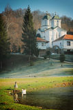 Monasterio Kaona Foto de archivo libre de regalías