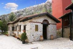 Monasterio Macedonia, Grecia de Panagia Mauriotissa Fotos de archivo libres de regalías