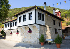 Monasterio Macedonia, Grecia de Panagia Mauriotissa Imagen de archivo libre de regalías