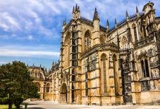 Monasterio medieval dominicano de Batalha, Portugal Fotos de archivo