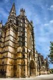 Monasterio medieval dominicano de Batalha, Portugal - gran masterpie Imagen de archivo