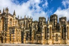 Monasterio medieval dominicano de Batalha, Portugal - gran masterpie Fotografía de archivo