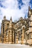 Monasterio medieval dominicano de Batalha, Portugal - gran masterpie Imágenes de archivo libres de regalías
