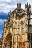 Monasterio medieval dominicano de Batalha, Portugal - gran masterpie Foto de archivo
