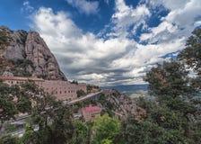 Monasterio Montserrat Fotos de archivo