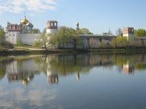 Monasterio Moscú Rusia de Novodevichiy Fotos de archivo