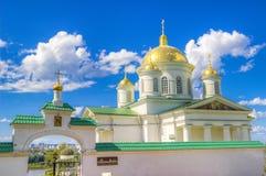 Monasterio Nizhny Novgorod del anuncio Imagen de archivo libre de regalías