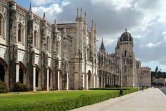 Monasterio o abadía de Jeronimos en Lisboa, Portugal, aka monasterio de Santa Maria de Belem Imagenes de archivo