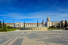 Monasterio o Hieronymites de Jeronimos Fotos de archivo