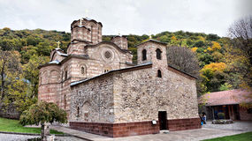 Monasterio ortodoxo Foto de archivo libre de regalías