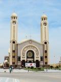 Monasterio ortodoxo copto fotografía de archivo libre de regalías
