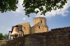 Monasterio ortodoxo de Djurdjevi Stupovi, Serbia Fotos de archivo libres de regalías