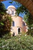 Monasterio ortodoxo del patio Imagen de archivo