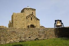 Monasterio ortodoxo Djurdjevi Stupovi en Serbia, herencia de la UNESCO Fotos de archivo libres de regalías
