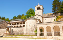 Monasterio ortodoxo en Cetinje, Montenegro Imágenes de archivo libres de regalías