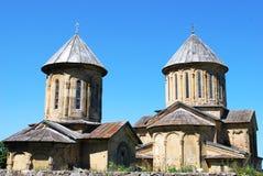 Monasterio ortodoxo en Georgia Fotografía de archivo