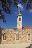 Monasterio ortodoxo en Jerusalén vieja fotos de archivo libres de regalías