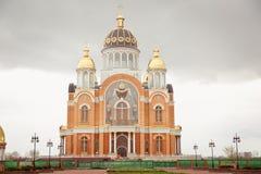 Monasterio ortodoxo en Kiev Imagen de archivo libre de regalías