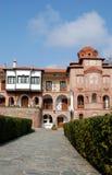 Monasterio ortodoxo griego Foto de archivo libre de regalías