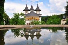 Monasterio ortodoxo rumano Fotografía de archivo libre de regalías