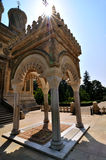 Monasterio ortodoxo rumano Fotos de archivo