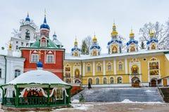 Monasterio ortodoxo ruso Imagen de archivo libre de regalías